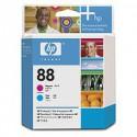 C9382A Tête d'impression Cyan + Magenta (HP n° 88) imptimante HP Officejet