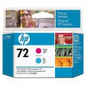 C9383A Tête d'impression Magenta + Cyan (HP n° 72) traceur HP Designjet T1100 T1120 T1200