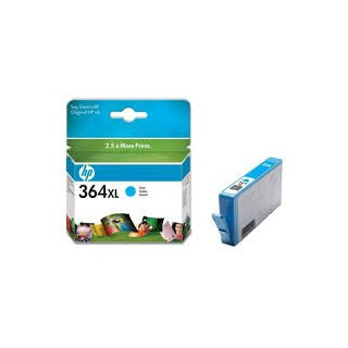 CB323EE Encre Cyan (HP n° 364XL) imprimante HP Photosmart 7320 7510 7520
