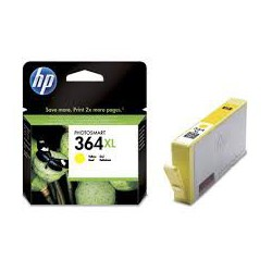 CB325EE Encre Jaune (HP n° 364XL) imprimante HP Photosmart 7320 7510 7520