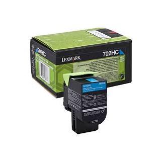 70C20C0 Toner Cyan pour imprimante Lexmark CS310, CS410, CS510