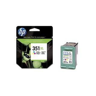 CB338EE Encre 3 Couleurs pour imprimante HP Deskjet, Officejet, Photosmart