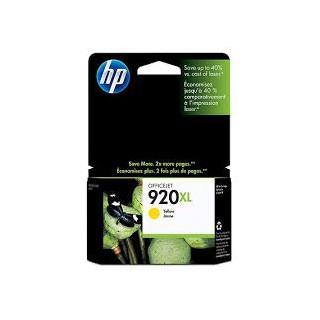 CD974AE Encre HP n°920 Jaune imprimante HP Officejet 6500