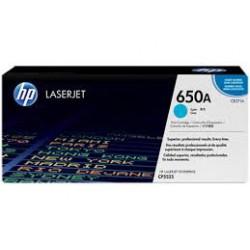 CE271A Toner Cyan imprimante HP Color Laserjet Entreprise CP5525 M750