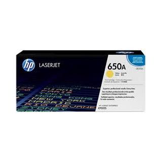 CE272A Toner Jaune imprimante HP Color Laserjet Entreprise CP5525 M750
