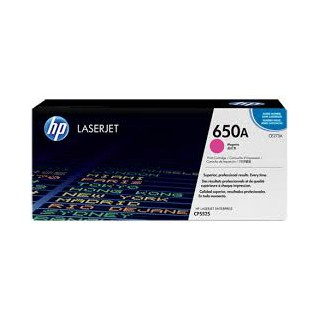 CE273A Toner Magenta imprimante HP Color Laserjet Entreprise CP5525 M750