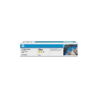 CE312A Cartouche de Toner Jaune 126A imprimante HP Laserjet Pro 100 M175 et CP1025
