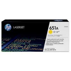 CE342A Jaune Toner imprimante HP Color Laserjet M775