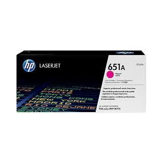 CE343A Magenta Toner imprimante HP Color Laserjet M775