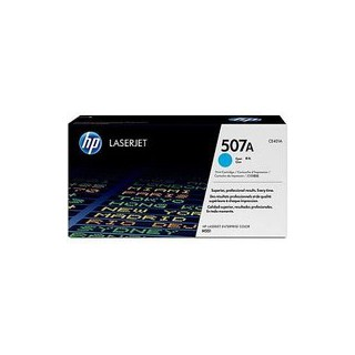 CE401A Cartouche de Toner Cyan 507A imprimante HP Color Laserjet Enterprise 500 M551 M570 M575