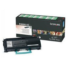 E360H11E Toner Noir pour imprimante Lexmark E360, E462