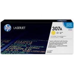 CE742A Cartouche de Toner Jaune imprimante HP Laserjet CP 5220 et 5225