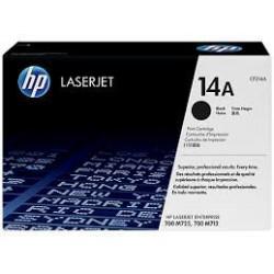 CF214A Noir Toner imprimante HP Color Laserjet M712 M725