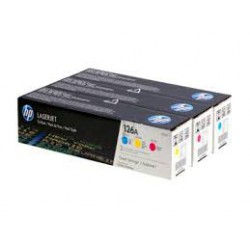 CF341A Pack Toner 3 couleurs imprimante HP Color Laserjet CP1025 M175 M275