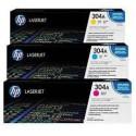 CF372AM Cyan Magenta Jaune pack Toner imprimante HP Color Laserjet CP2025 CM2320