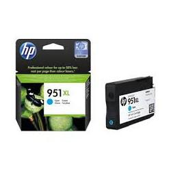 CN046A Cartouche d'Encre Cyan n°951 XL imprimante HP Officejet Pro 8100 et 8600