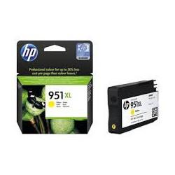 CN048A Cartouche d'Encre Jaune n°951 XL imprimante HP Officejet Pro 8100 et 8600