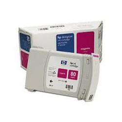 HP Ink C4847A No.80 Magenta 350ml pour traceur Designjet 1050C, 1055CM