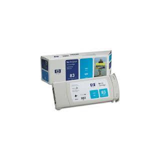HP Ink C4941A No.83 Cyan 680ml pour traceur Designjet 5500
