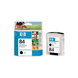 HP Ink C5016A No.84 Noir 69ml pour traceur Designjet 10, 20, 30, 50, 90, 120, 130