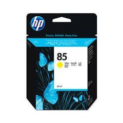 HP Ink C9427A No.85 Jaune 69ml pour traceur Designjet 30, 90, 130