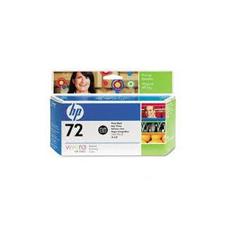 HP Ink C9370A No.72 Photo Noir pour traceur Designjet T610, T620, T770, T1100, T1200, T2300, T790, T1300