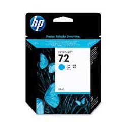 HP Ink C9371A No.72 Cyan pour traceur Designjet T610, T620, T770, T1100, T1200, T2300, T790, T1300