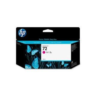 HP Ink C9372A No.72 Magenta pour traceur Designjet T610, T620, T770, T1100, T1200, T2300, T790, T1300