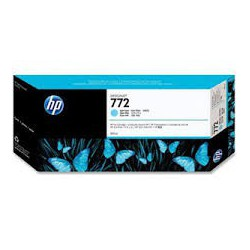 HP Ink CN632A No.772 Light Cyan pour traceur Designjet Z5200