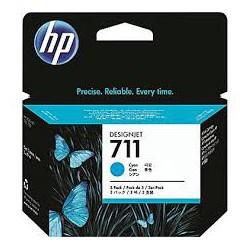 HP Ink CZ130A No.711 Cyan 29ml pour traceur Designjet T120, T520