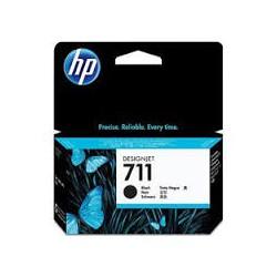 HP Ink CZ133A No.711 Noir HC 80ml pour traceur Designjet T120, T520