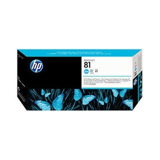 HP Tête d'impression C4951A Cyan No.81 pour traceur HP Designjet 5000