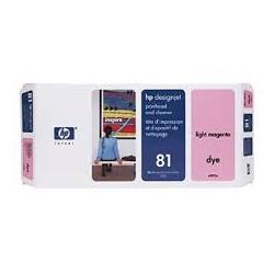 HP Tête d'impression C4955A Light Magenta No.81 pour traceur Designjet 5000