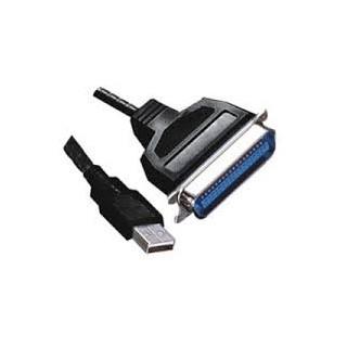 Cordon imprimante Port Parallèle (36 pts mâle) USB