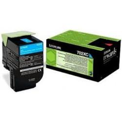 70C2XC0 Toner Cyan pour imprimante Lexmark CS510de, CS510dte