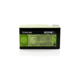 80C2HK0 Toner Noir pour imprimante Lexmark CX 410, CX 510