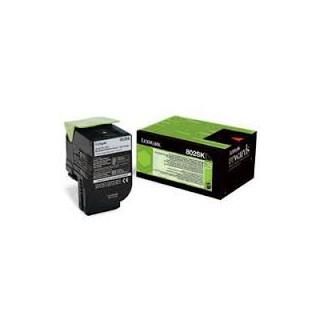 80C2XK0 Toner Noir pour imprimante Lexmark CX510, CX510de, CX510dhe, CX510dthe