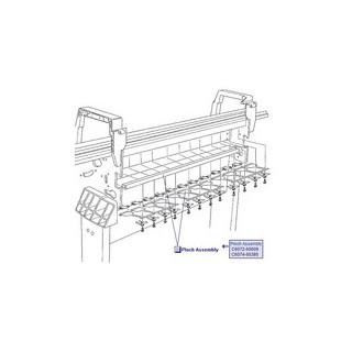 Q5669-60705 Pinch Assembly (24 et 44 pouces) imprimante HP Designjet T610 T1100