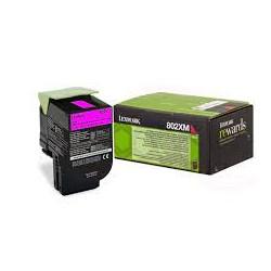 80C2XM0 Toner Magenta pour imprimante Lexmark CX510, CX510de, CX510dhe, CX510dthe