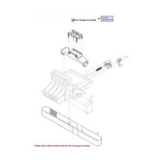 Q6683-67017 Chariot 24 pouces traceur HP Designjet T610 T1100