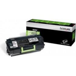 52D2H00 Toner Noir pour imprimante Lexmark MS810de/dtn, MS811dn/n, MS812de/sn/dtn