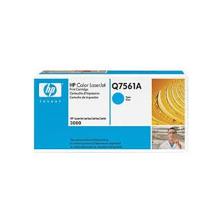 Q7561A Toner Cyan imprimante HP Color Laserjet 3000