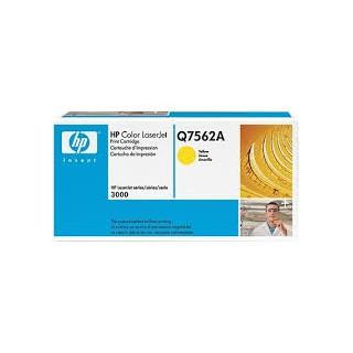 Q7562A Toner Jaune imprimante HP Color Laserjet 3000
