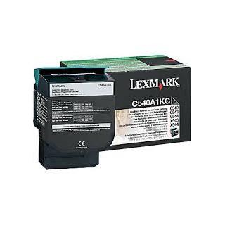 C540A1KG Toner Noir pour imprimante Lexmark C540, C543, C544, C546, X543, X544