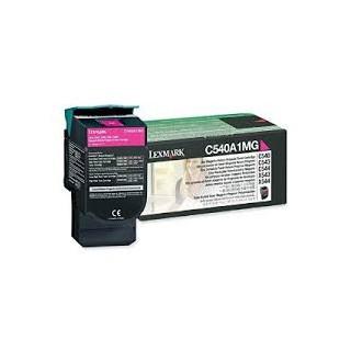 C540A1MG Toner Magenta pour imprimante Lexmark C540, C543, C544, C546, X543, X544