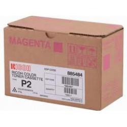 888237 Cartouche de Toner Magenta Ricoh Type P2 pour Ricoh Aficio 2228C / Ricoh Aficio 2232C / Ricoh Aficio 2238C
