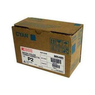 888238 Cartouche de Toner Cyan Ricoh Type P2 pour Ricoh Aficio 2228C / Ricoh Aficio 2232C / Ricoh Aficio 2238C