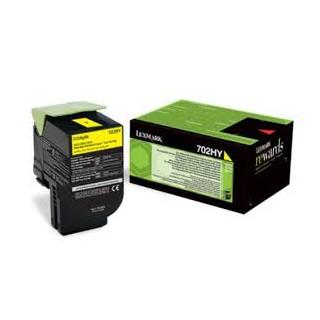 70C2HY0 Toner Jaune pour imprimante Lexmark CS310, CS410, CS510