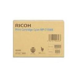 Cartouche de toner Ricoh DT1500 Cyan 888550 DT1500CYN pour copieur MP C1500SP