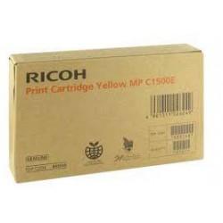 Cartouche de toner Ricoh DT1500 Jaune 888548 DT1500YLW pour copieur MP C1500SP